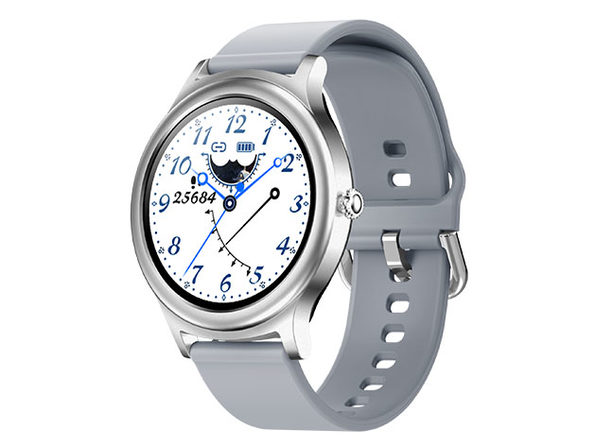 TouchTime Round Full Screen Smart Watch (Silver)