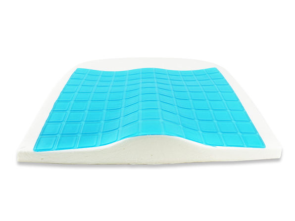 EZE Back Cool Memory Foam Seat Cushion (Blue)