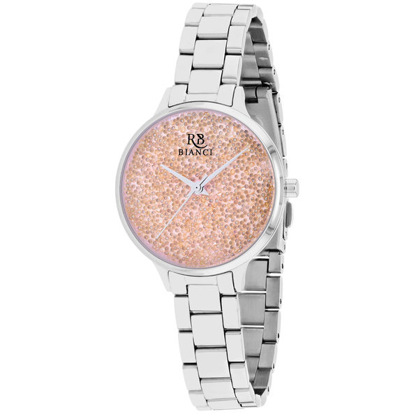 Roberto Bianci Women's Gemma Peach Dial Watch - RB0245