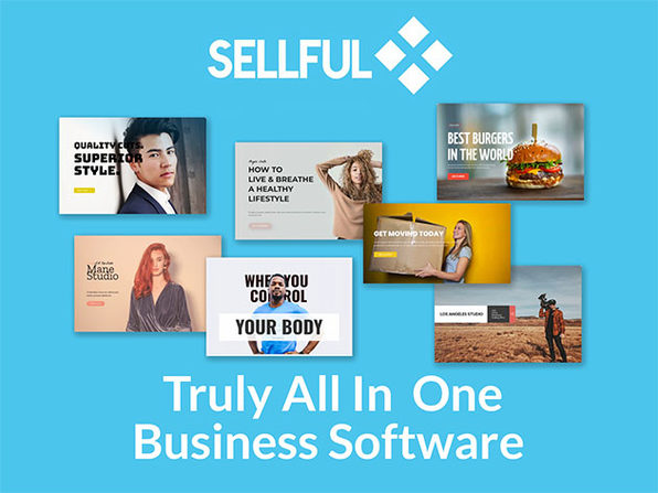 Sellful All-in-One Business Software: ERP Plan (Lifetime)