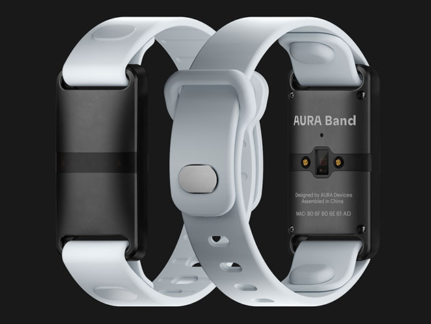 Two fitness trackers