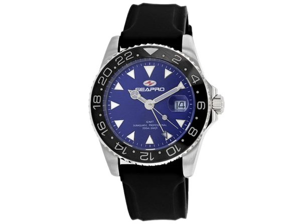 Seapro Men's Blue Dial Watch SP0125B