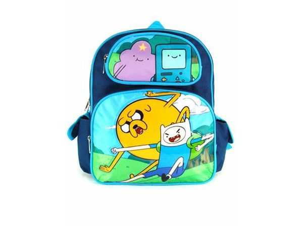 "Adventure Time Small 12"" Cloth Backpack Book Bag Pack - Product Image"