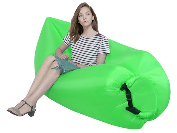 Inflatable Lazy Sofa (Green)