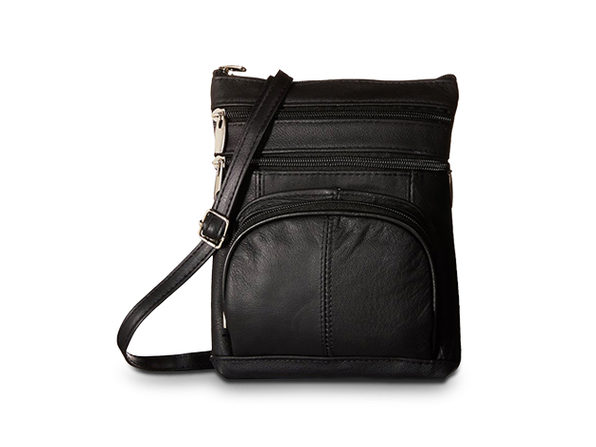 AFONiE Genuine Leather Fashion Crossbody Bag