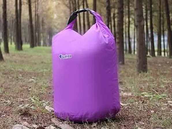 Waterproof Dry Bags 3-Piece Set (Purple) - Product Image