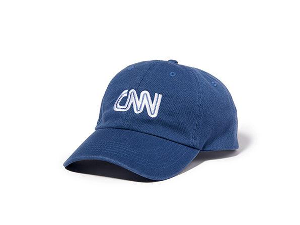 CNN Basic Logo Cap  Indigo