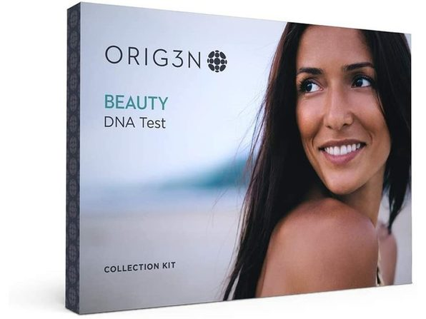 ORIG3N Beauty Genetic Personal Assessment Home DNA Test Kit, For Both Male & Female