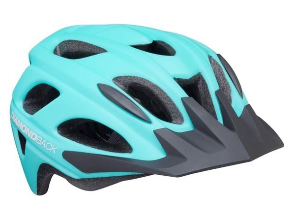 Diamondback 88-32-208 Trace Adult Bike Helmet, Medium (52-56cm) - Matte Light Blue