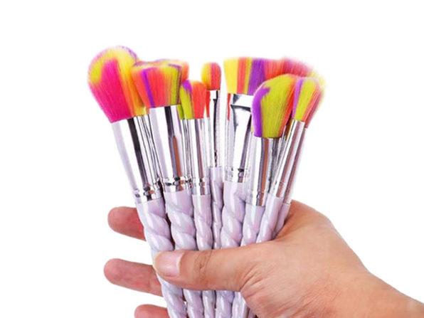 Spiral Makeup Brush Set