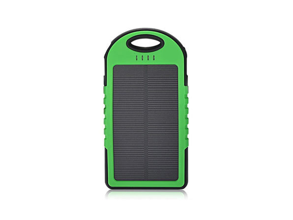 Universal Waterproof Solar Charger (Green)