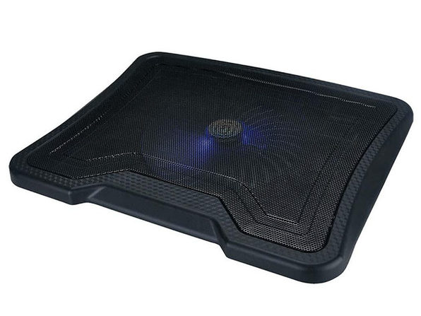 Laptop Cooling Pad with 1 Large Fan + 2 USB Ports