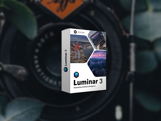 Stack Social Deal for Luminar 3: Lifetime Access to Award-Winning Photography Software
