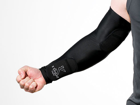 Dual Compression Full Arm Sleeves with Freeze Packs (Youth Large)