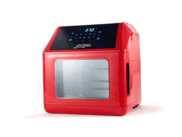 Power Air Fryer 10-in-1 Pro Elite Oven (Refurbished/Red)