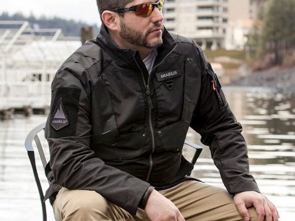 AMABILIS® Responder Jacket (Tactical Black)