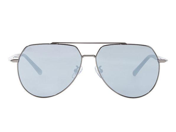 Lucus Sunglasses (Shiny Gun x Silver)