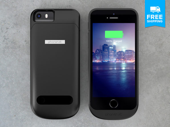 pretty nice cfe19 74a04 PhoneSuit Elite Battery Case: The Ultra-Thin Case That Delivers 2 ...