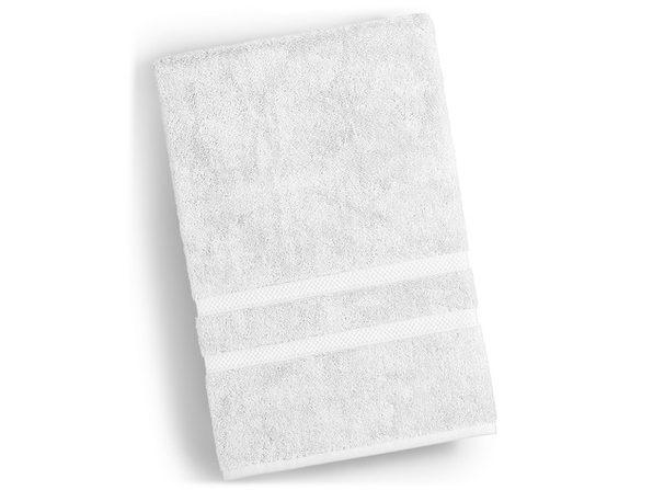 Charter Club Elite Super Soft Hygro Cotton 30 Inches x 56 Inches Bath Towel, White