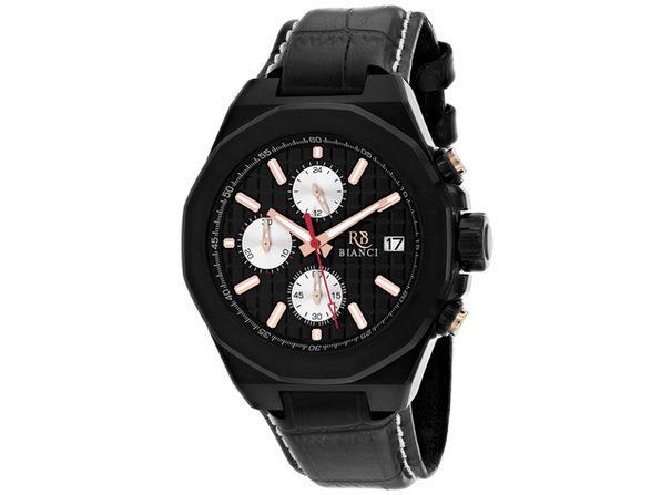 Roberto Bianci Men's Fratelli Black Dial Watch - RB0132