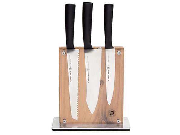 Schmidt Brothers® Cutlery Carbon 6  7-Pc Knife Block Set