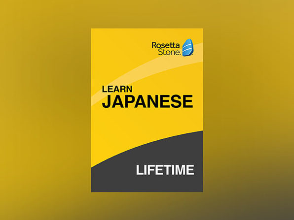 Rosetta Stone: Lifetime Subscription (Japanese)
