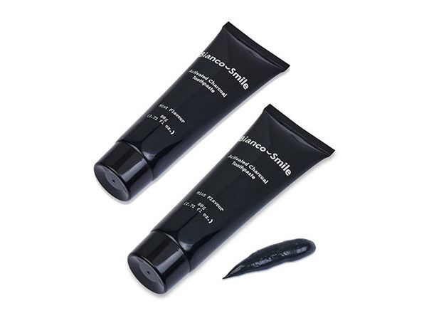 Bianco Smile Activated Charcoal Whitening Toothpaste: 2 Pack