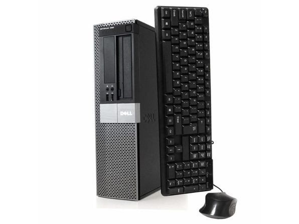 Dell OptiPlex 980 Desktop PC, 3.2 GHz Intel i5 Dual Core Gen 1, 8GB DDR2 RAM, 500GB SATA HD, Windows 10 Home 64 Bit (Refurbished Grade B)
