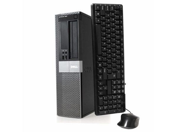 Dell OptiPlex 980 Desktop PC, 3.2 GHz Intel i5 Dual Core Gen 1, 8GB DDR2 RAM, 500GB SATA HD, Windows 10 Home 64 Bit (Refurbished Grade B)