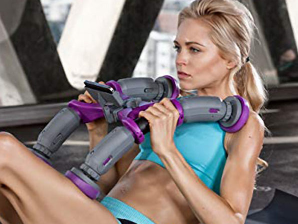 ABXCore: Ab Machine with Virtual Trainer for Women
