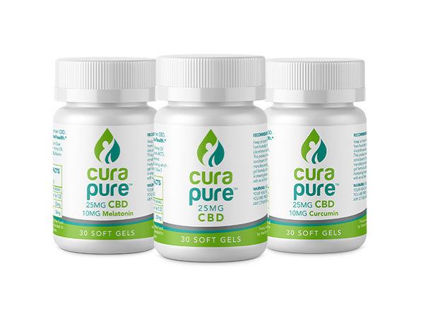 Curapure CBD Softgels