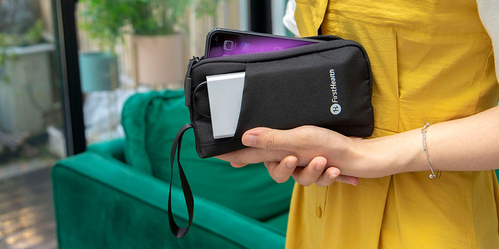 FirstHealthUV-C Sanitizing Phone Pouch, on sale for $39.99 (20% off)