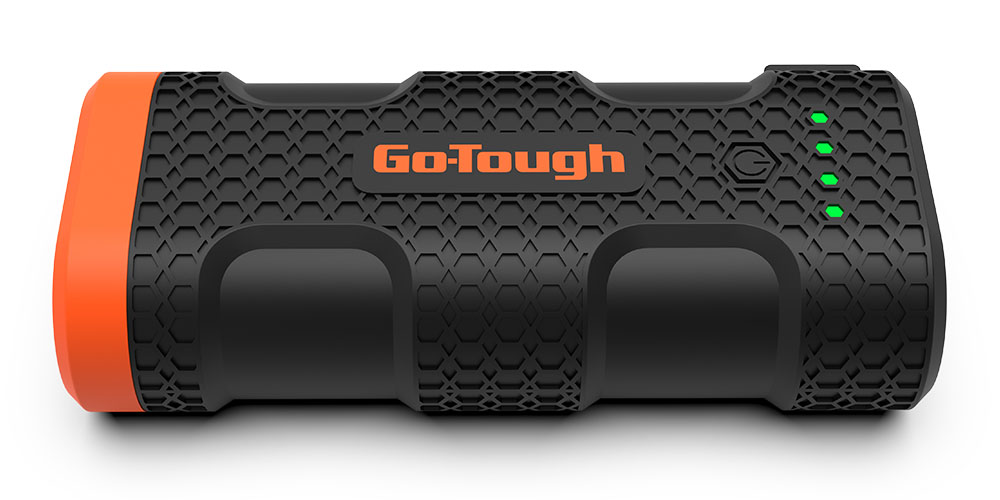 GO-TOUGH Power Bank with LED Flashlight, on sale for $39.99 (20% off)