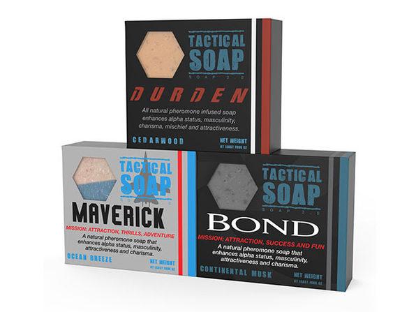 Tactical Soap Trifecta: 3-Pack (Durden, Bond & Maverick)