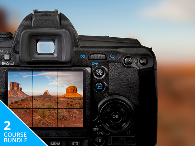 Master Your DSLR Camera w/ This Beginner & Advanced Course Combo