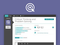 Critical Thinking and Problem Solving - Product Image