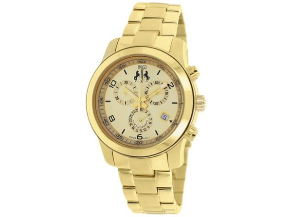 Jivago Women's Infinity Gold dial watch JV5221