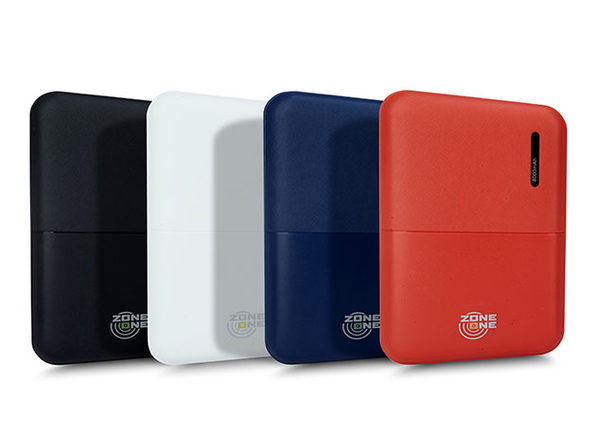 Zone One 8,000mAh Dual-USB Power Bank