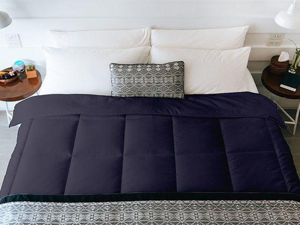 SöMN Kömforte Dual Zone Comforter (Navy/King)