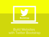 Learn to Build Websites Using Twitter Bootstrap - Product Image