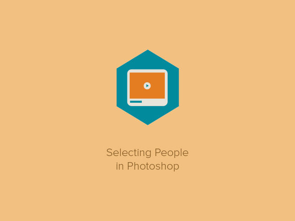Selecting People in Photoshop - Product Image