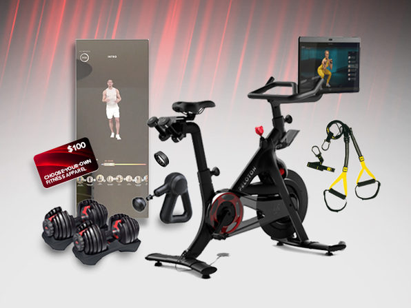 100 Entries to Win the Complete Home Gym Giveaway Ft. Peloton & Donate to Charity