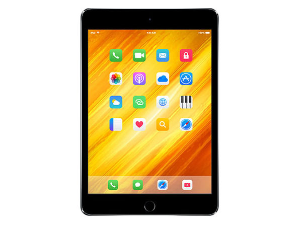 Apple iPad mini 4 128GB WiFi Only Space Gray - Refurbished - Good Condition - Product Image