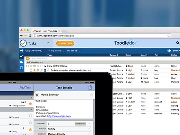 Increase Your Productivity by Efficiently Managing Your Tasks & Reminders with This Online Task Manager