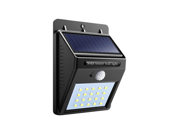 20 LED Solar-Powered Motion Sensor Security Light