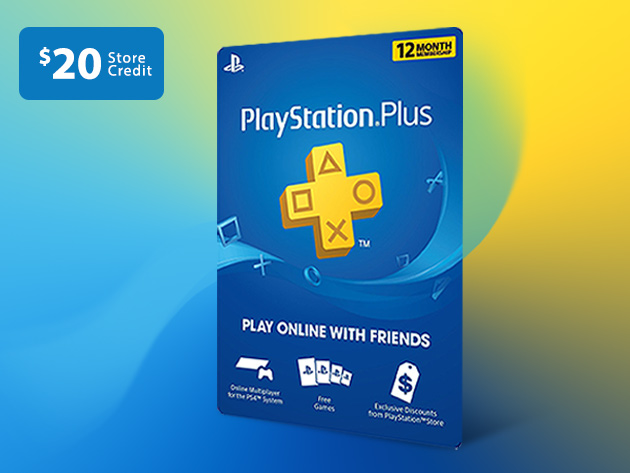Get a year of PlayStation Plus and $ 20 store credit for just $ 50 _2