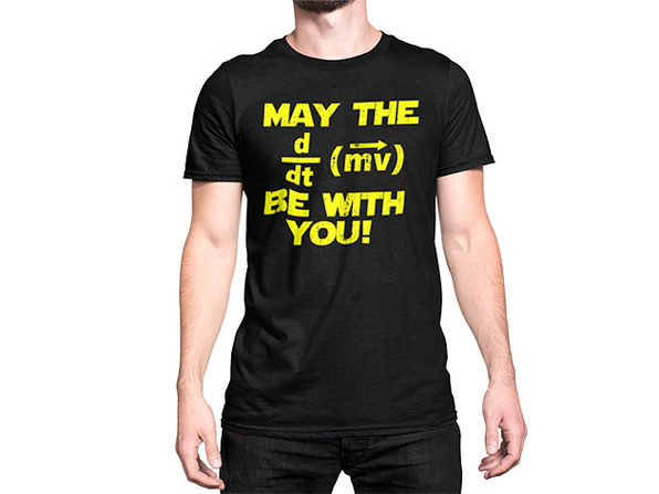 MAY THE F BE WITH YOU T-Shirt (XXL)