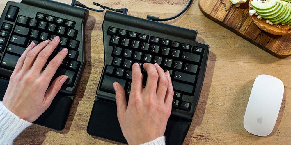 Improve your work experience with these keyboards, desks, and others sale 184820 primary image wide