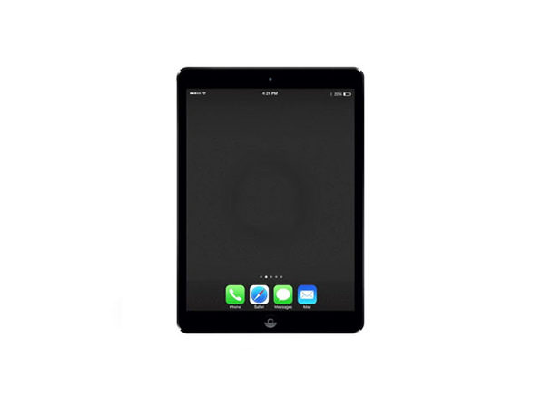 Refurbished iPad Air 1 16 GB Space Gray - Good Condition - Product Image