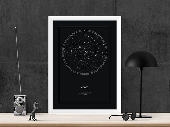 Strellas Personalized Star Map